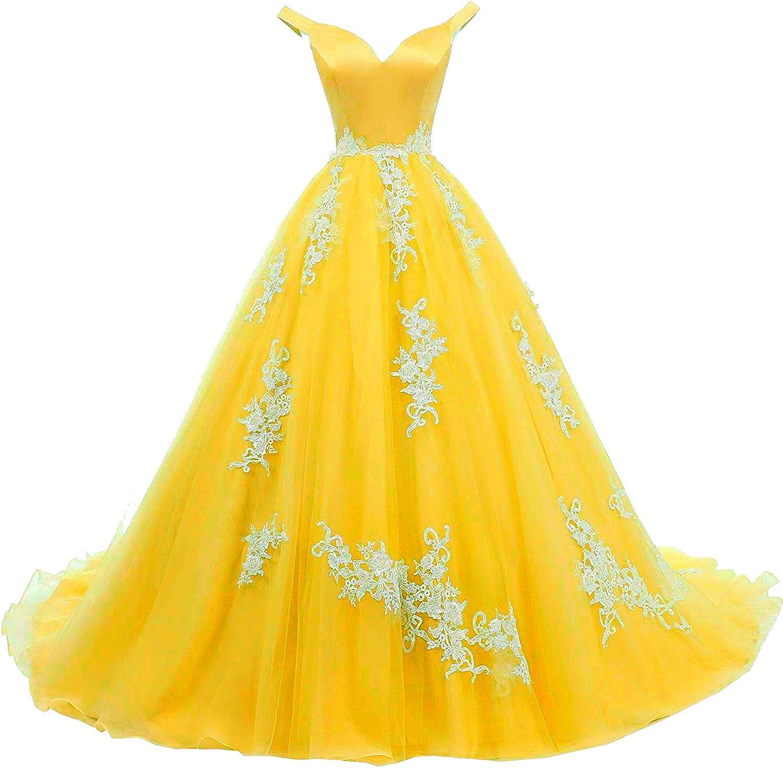 YINGJIABride Popular Arlington Mall brand Valentine Organza and Lace Quinc Dresses Prom Dance
