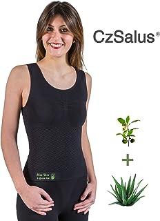 CzSalus Anti-Cellulite massagge Vest with Aloe & Green Tea microcapsules