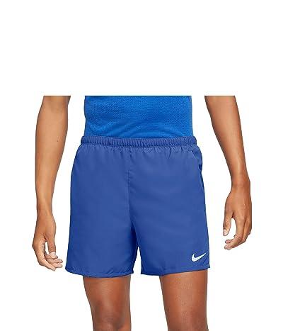 Nike Dri-FIT Challenger Shorts 5 Brief (Game Royal/Reflective Silver) Men