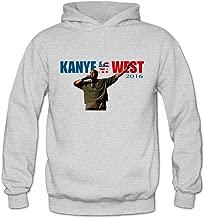 ITMEIAL Women's Kanye West Hooded Sweatshirt