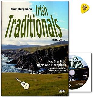 Irish Traditionals - Libro de partituras con CD, diseño de Jigs, Slip Jigs, Reels y Hornpipes