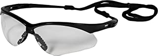 Jackson Safety 25679 V30 Nemesis Safety Eyewear, Polycarbonate, One Size, Black (Pack of 12)