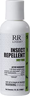 Insect Repellent Lotion Deet Free. Non-Greasy, Non-Tacky, Odorless, 8 Hour Protection. Safe for All Ages. EPA Registered as a Biopesticide Using IR3535. Does not Kill, only Repels Insects. 4oz