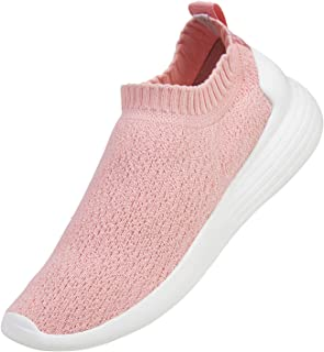 DKRUCAK Womens Walking Shoes Non Slip Sneakers Comfortable Slip on Casual Shoes for Women