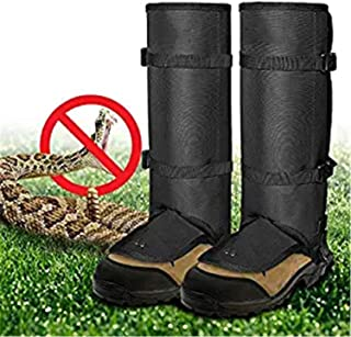 Vklet Snake Guards, New Upgraded Lightweight Stab-Resistant Snake Gaiters Proof Leggings, Protects Against Snake Bite of All Types of Rattlesnakes, Adjustable Size Fits for Men and Women