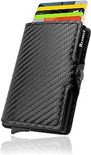 Portafoglio Bronzi® Porta Carte Credito - Portafoglio Uomo Slim Portacarte uomo - Mini Porta Tessere - Protezione RFID Por...