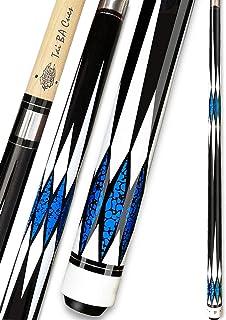 WKZ 15 OZ//48 Inch Billiard Pool Cue,1//2 Jointed Handcraft Shiraki,Snooker Cue Tips 12 Mm Head Size:Type 1