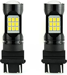 JDM ASTAR Super Bright PX Chips 3056 3156 3057 3157 4057 4157 White LED Bulbs with Projector