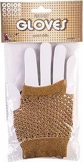 Forum Novelties Women's Fishnet Fingerles Gloves