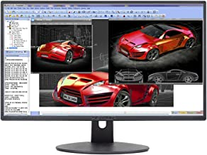 "Sceptre E248W-19203R 24"" Ultra Thin 75Hz 1080p LED Monitor 2x HDMI VGA Build-in.."