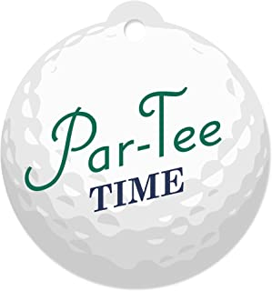Par-Tee Time - Golf - Birthday or Retirement Party Favor Gift Tags (Set of 20)