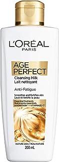 L'Oreal Paris Age Perfect Face wash cleansing Milk, Vitamin C, 200 Ml, 200 Milliliters