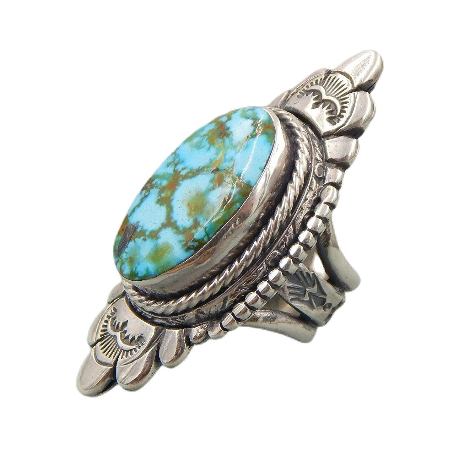 Clearance SALE Limited time Super quality handcrafted stamp Turquoise ster elongated Ranking TOP17 Kingman