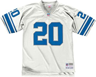 Mitchell & Ness Barry Sanders 1996 Detroit Lions Road White Legacy Jersey Men's