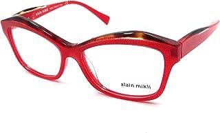 Rx Eyeglasses Frames A03042 F424 54x15 Havana / Crystal / Red Dot