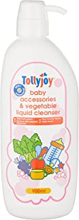 Tollyjoy Antibacterial Baby Accessories and Vegetable Liquid Cleanser, 900ml