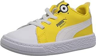 PUMA Baby Minions Basket Bs Ac Kids Sneaker,