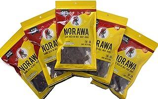 Pack de Carne Seca Norawa de 5 bolsas en 100 gramos Trozo Laminado