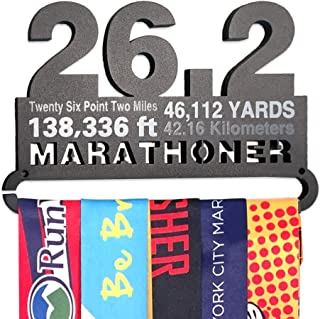 Gone For a Run   Runners Race Medal Hanger   Assorted Designs   Small Holds 6 Medals
