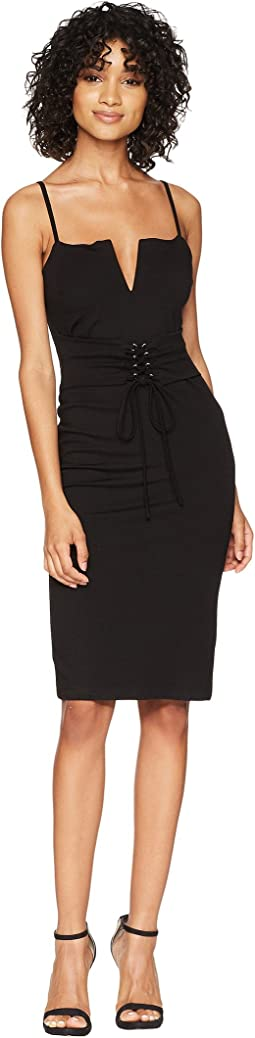 Bardot Corset Bodycon Dress