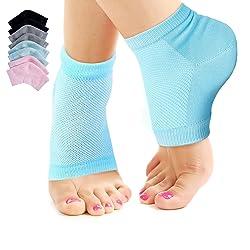 Nado Care Moisturizing Socks for Dry Cracked Heels Repair