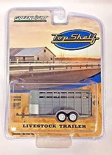 GREENLIGHT TOP SHELF REPLICAS GREY LIVESTOCK FARM TRAILER HITCH & TOW