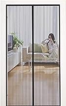 MYCARBON Magnetisch vliegengaas deur, 80x200cm, insectenbescherming, balkondeur, vliegengordijn, 10 x sterker dan normaal ...