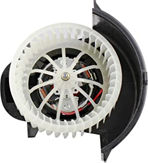 BOXI Heater Blower Motor w/Fan Cage Front for 2007-2010 Audi Q7 / 2004-2010 Volkswagen VW Touareg 7L0820021Q