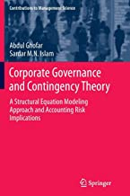 Corporate Governance and Contingency Theory: A Structural Equation Modeling Approach and Accounting Risk Implications