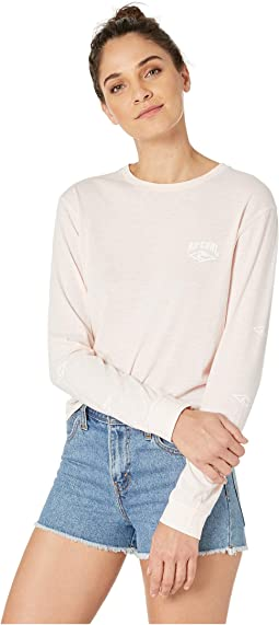 Cruising Long Sleeve Crop Tee