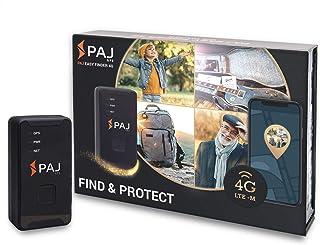 4G Easy Finder von PAJ GPS, GPS Tracker mit neuester Technologie, inkl. SOS Taste, Akkulaufzeit ca. 7 10 Tage, LTE inkl. App