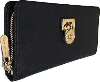 b0e36afec174 Michael Kors Hamilton Traveler LG Zip Around Wallet