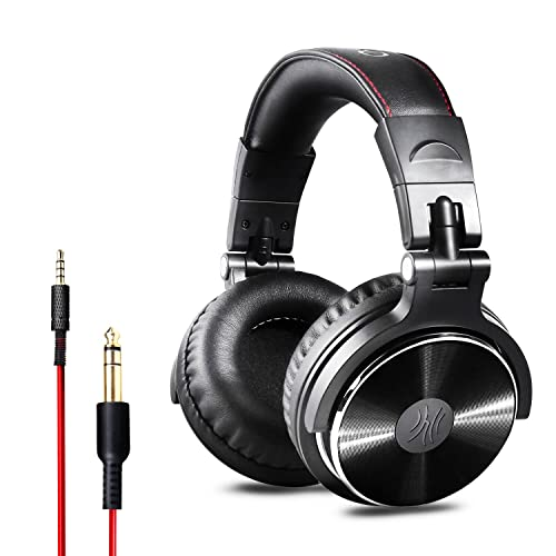 379b07abcb5 OneOdio Over Ear Headphones Closed Back Studio DJ Headphones for  Monitoring, Adapter Free, Noise