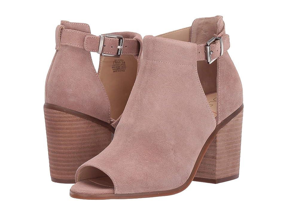 SOLE / SOCIETY Ferris (Dusty Rose Cow Split Suede) High Heels