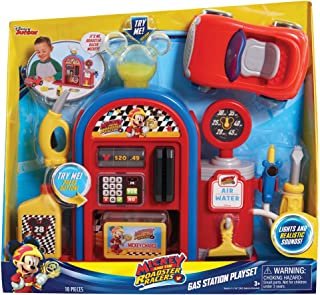 Just Play Mickey and the Roadster Racers Gas Station Playset
