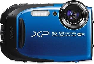 Fujifilm FinePix XP80 Waterproof 16.0 MP Digital Camera with 2.7-Inch LCD (Blue) (International Model) No Warranty