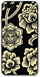Xianjing iPhone 7 Plus Case/iPhone 8 Plus Case Obey Anti-Scratch PC Rubber Cover Lightweight Slim Printed Protective Case