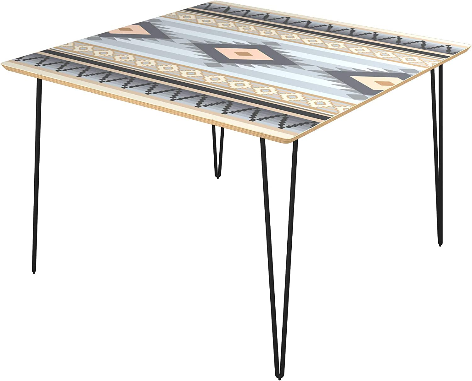 Poppy Square Max 69% OFF All stores are sold Dining Table - Surface Desert Hairpin Winter Carbon