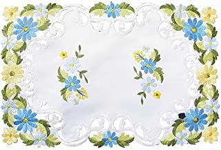 vintage embroidered placemats