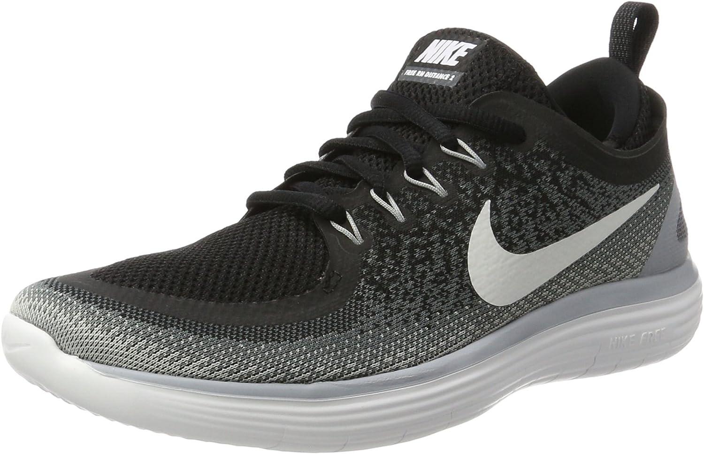 Nike Damen Woherren Free Rn Distance 2 Running Hallenschuhe, beige