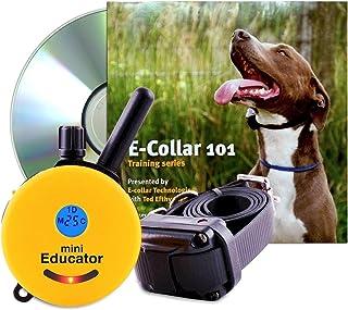 حزمة تلفاز ET-300-TV من إديوكيتور - طوق تدريب الكلاب بجهاز تحكم عن بعد صغير 1.27 ميل بالإضافة إلى 101 سلسلة بدون سلسلة 4 ج...