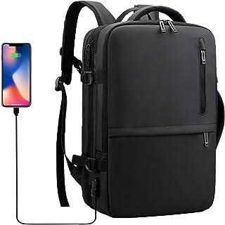 Sulliwayu 背包 商務背包 男士 雙肩包 大容量 防水 3way 商務包 15.6英寸 可放電腦 帶USB充電功能 上班 出差 上學 多功能 輕量 戶外旅行 背包 包