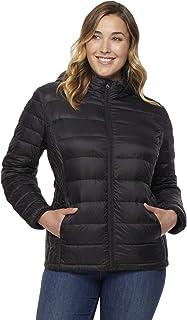 ba9f58c6791 32 DEGREES Women Plus Size Ultra Light Hooded Down Packable Jacket