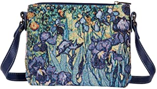 Signare Tapestry Collection of Vincent Van Gogh Irises Fashion Bags