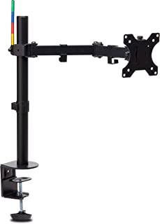 kensington Smartfit Ergo Single Extended Monitor Arm, K55408WW