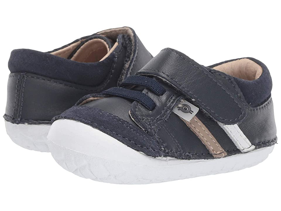 Old Soles Pave Denzle (Infant/Toddler) (Navy/Taupe/Snow) Boys Shoes
