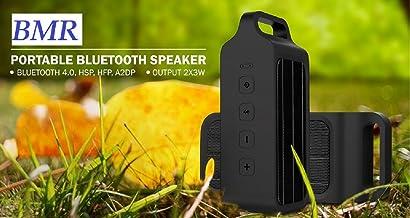 BMR Bluetooth Speaker Portable Wireless Bluetooth Speaker with Super Bass Radiator Output Bluetooth 4.0