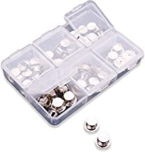 Pin Locks (42 Count) Pin Keepers - Spring Loaded Pinkeepers with Storage Case - Biker Pin Locks- Disney Pin Locks - Veteran Owned Company