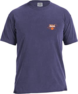 Image One NCAA National Champ Silhouette Comfort Color Short Sleeve T-Shirt