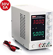 UNI-T UTP3315TFL-II Linear DC Power Supply, Stabilized 0-30V/0-5A Adjustable Regulator with 4 Digit Display, Reverse Polarity Protection and Low Noise